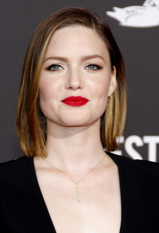 Holliday Grainger image libre de droits