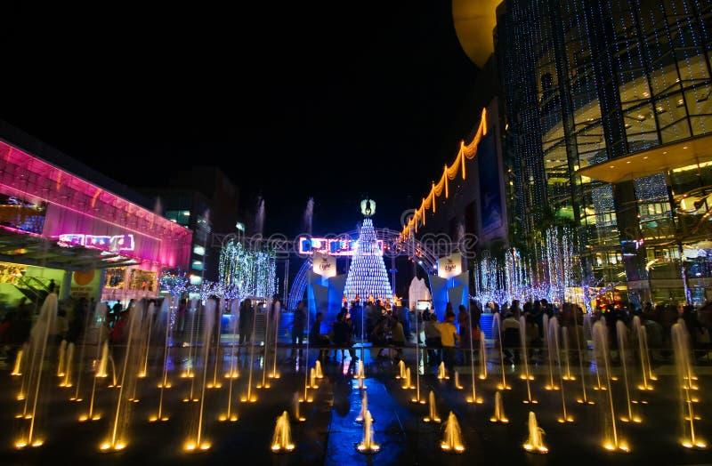 Holliday Leuchten von Bangkok stockfotos