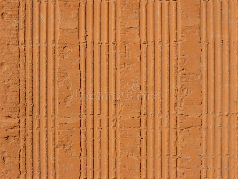 Download Hollow clay brick pattern stock image. Image of pattern - 9738311