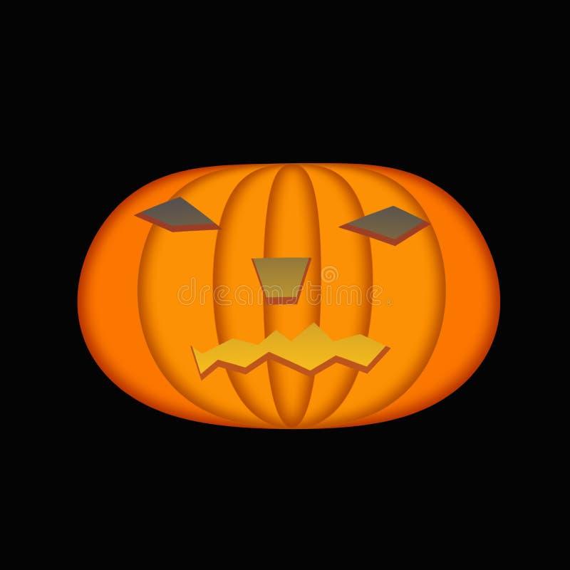 Holloween Pumpkin. Traditional jackol lanterns holloween pumpkins-high resolution colors