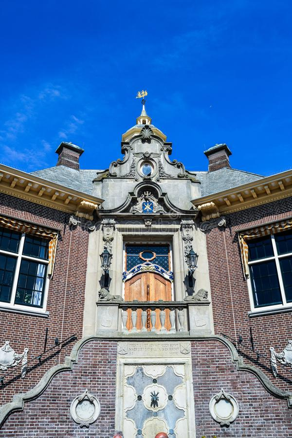 The Holly Corner. Random click of an Church in Zandvoort royalty free stock photo