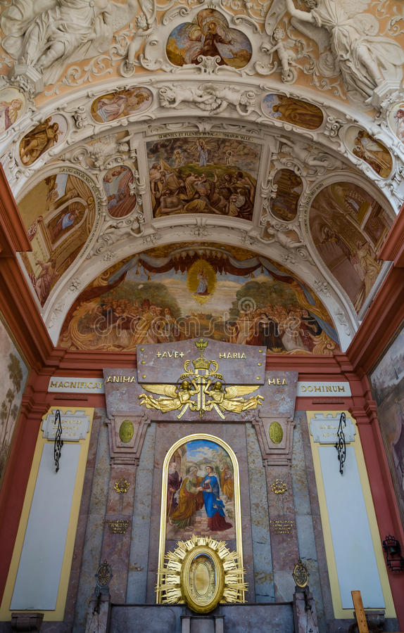 Free Holly Hill Monastery 4, Pribram Stock Photography - 52011942