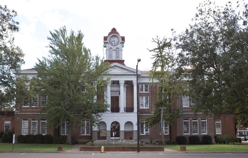 Holly Springs Courthouse, Holly Springs, milliseconde photo libre de droits