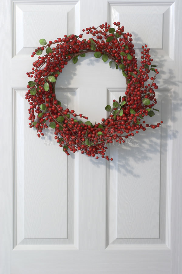 Download Holly Wreath Royalty Free Stock Photography - Image: 327597