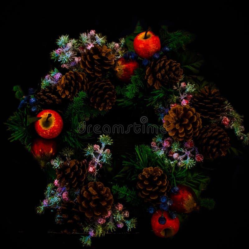 Holly Wreath immagine stock