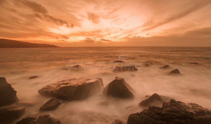 Hollywellbaai stock foto's