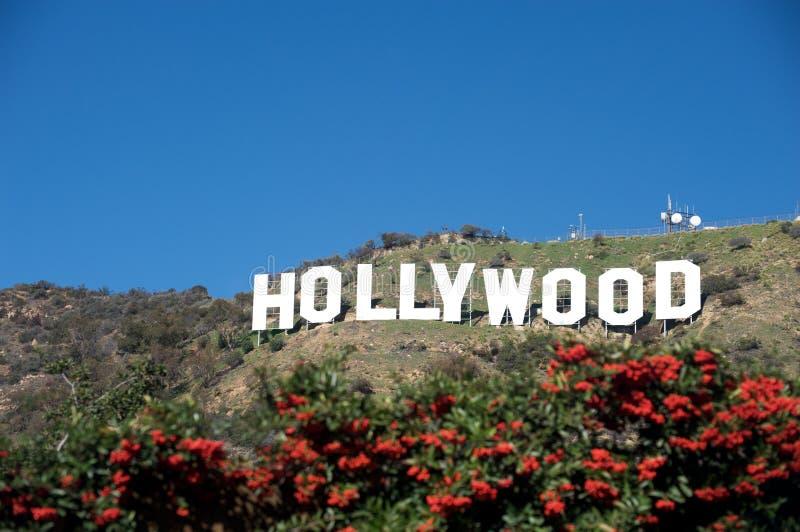 hollywood σημάδι στοκ φωτογραφίες