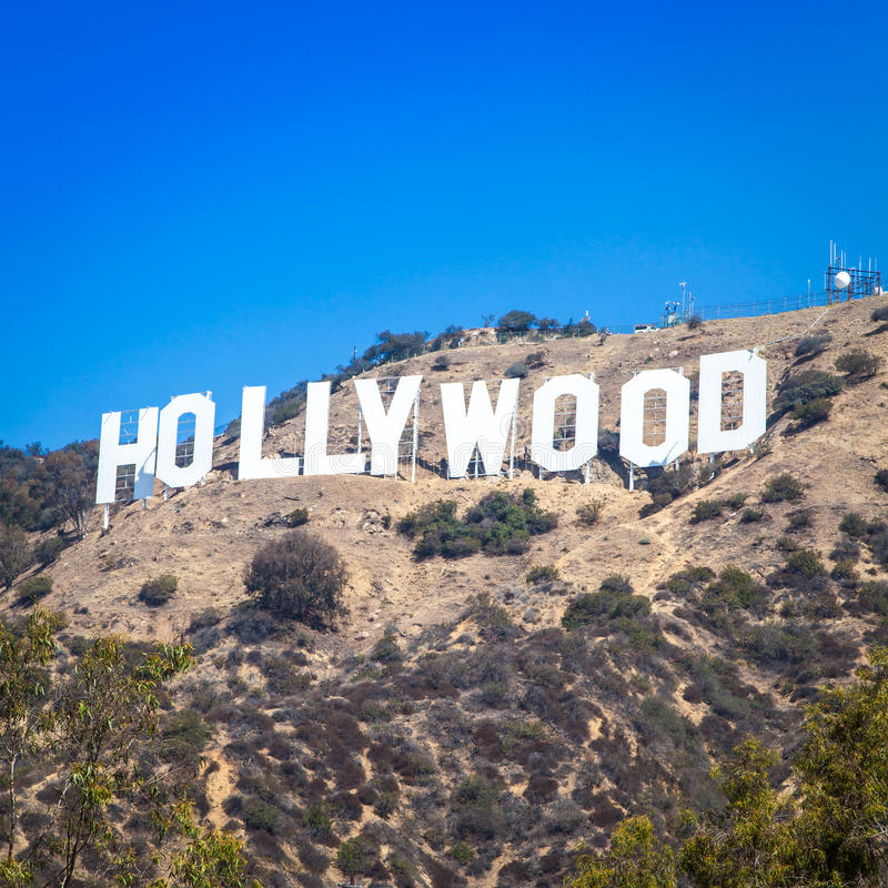 Hollywood photo libre de droits