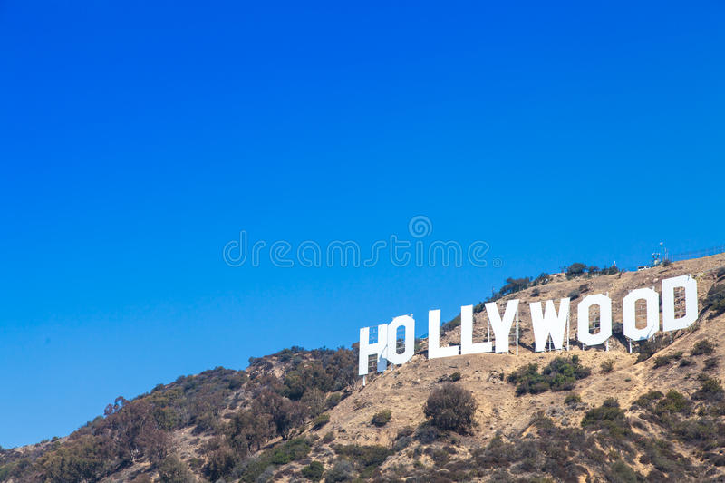 Hollywood foto de stock