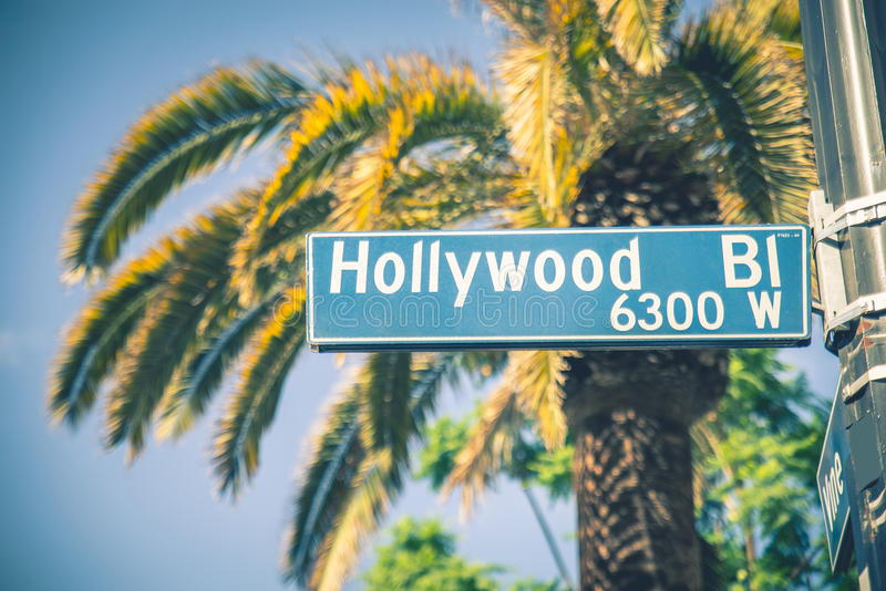 hollywood stock afbeelding