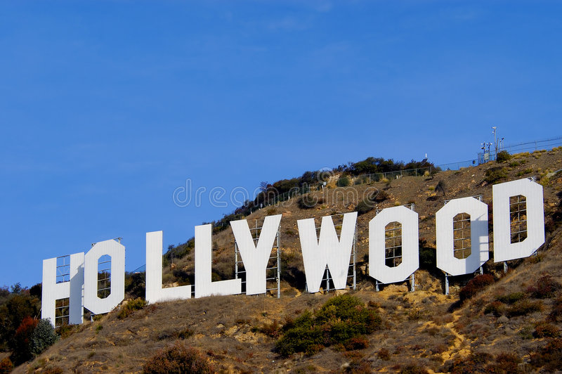 Download Hollywood editorial image. Image of california, sign, famous - 6534340