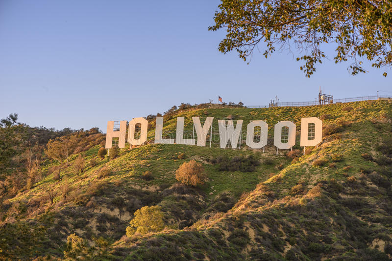 hollywood lizenzfreie stockfotografie