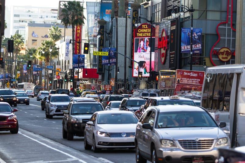 Hollywood Blvd στοκ φωτογραφίες