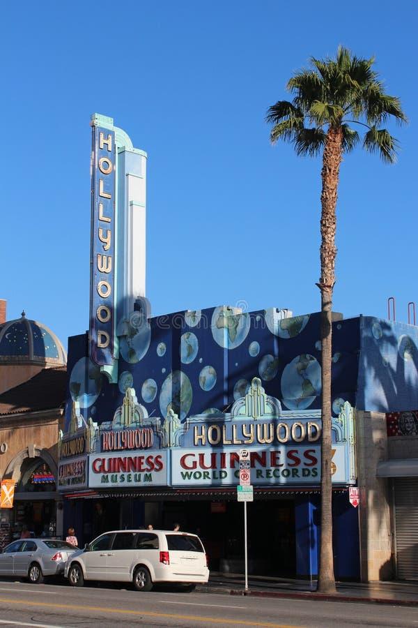 Hollywood Boulevard Editorial Stock Image
