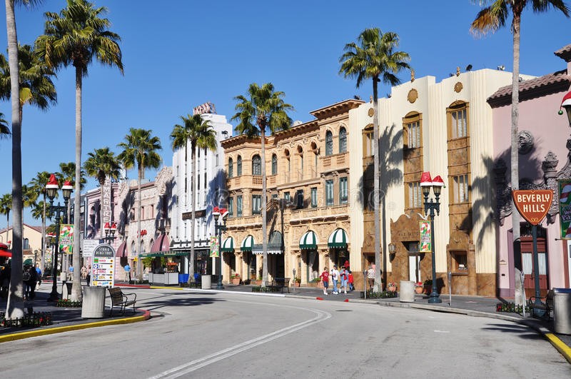 Download Hollywood Boulevard In Universal Orlando Editorial Photography - Image of resorts, beverly: 17847147