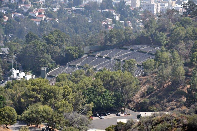 Hollywood Bowl arkivbild