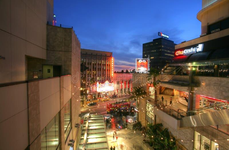 HOLLYWOOD, CA - 9 FEBRUARI: Sterren op de Hollywood-Gang van Bekendheid op Ho stock foto