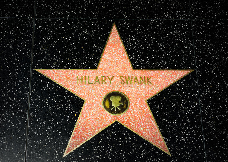 HOLLYWOOD, CA/USA - 18 APRILE 2015: fotografia stock libera da diritti