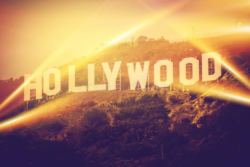 Hollywood Califórnia EUA foto de stock royalty free