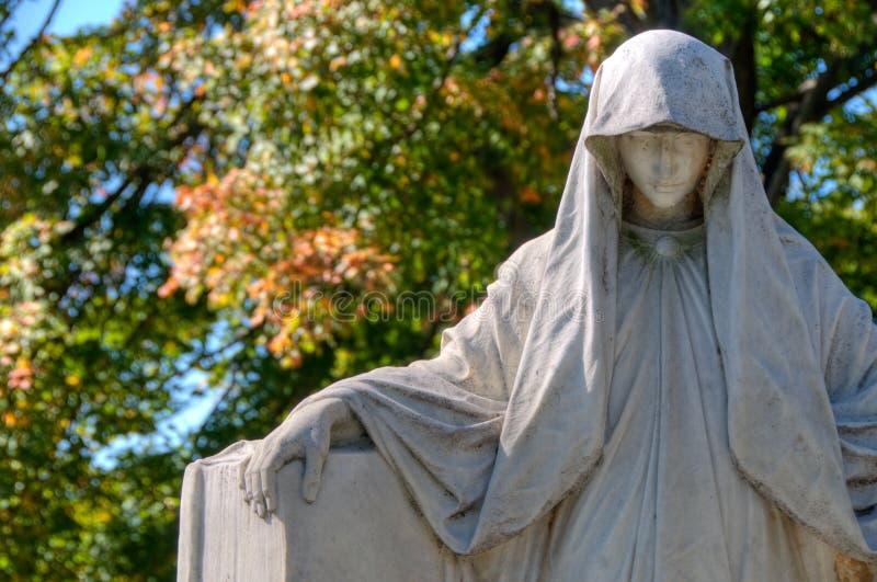 Hollywood Cemetery stock photo