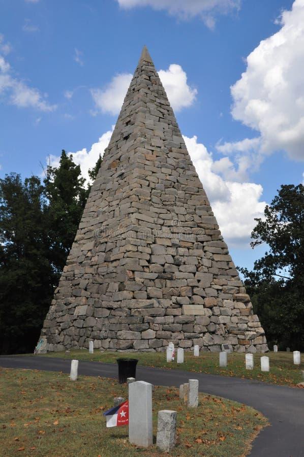 Hollywood Cemetery in Richmond, Virginia royalty free stock photos
