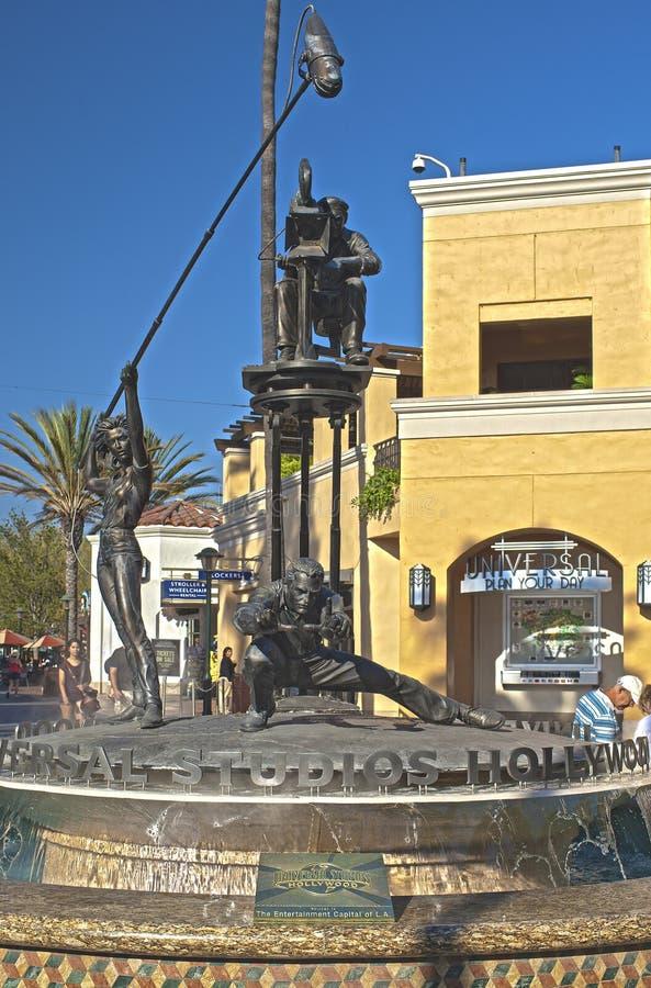 Hollywood EUA, outubro, 3: Estúdios universais Compositi simbólico fotos de stock royalty free