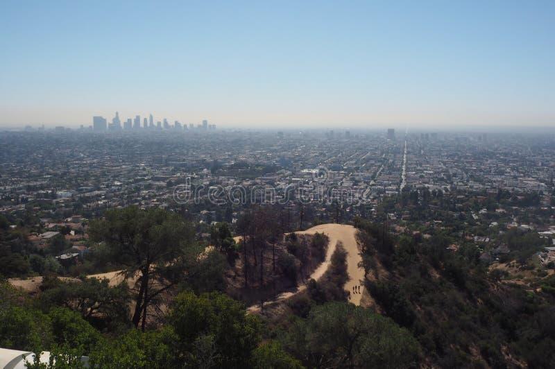 Hollywood Hills стоковые фотографии rf