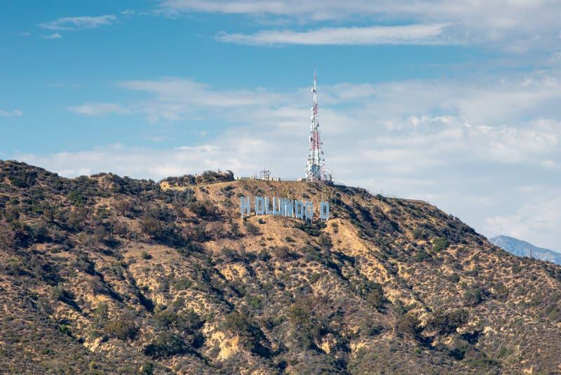 Hollywood Hills 库存图片