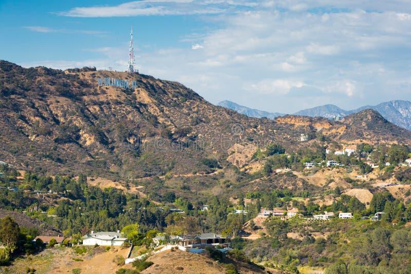 Hollywood Hills imagem de stock royalty free