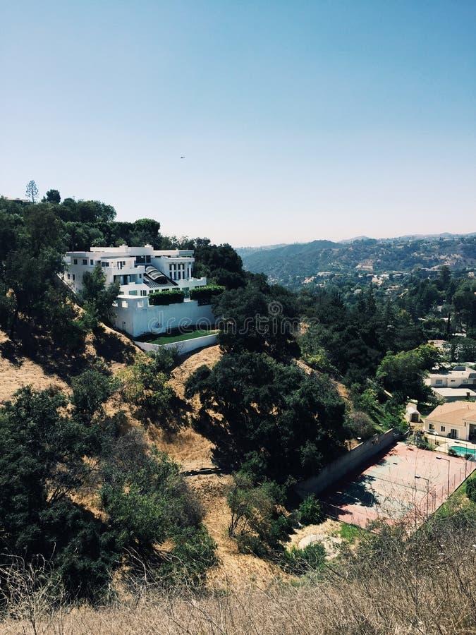 Hollywood Hills стоковые изображения