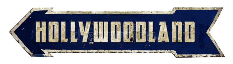 Hollywood Hollywoodland sign stock photos