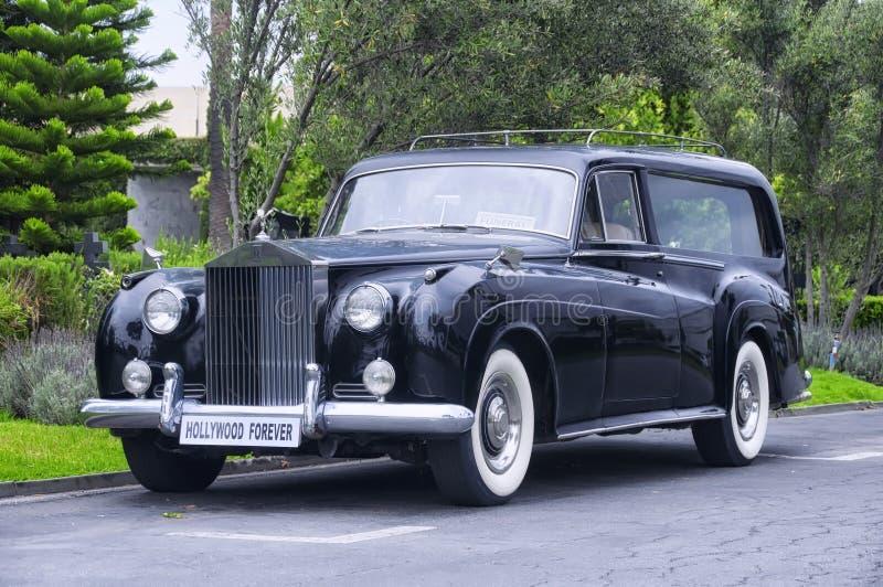 Hollywood Kirchhof Rolls Royce für immer lizenzfreie stockfotos