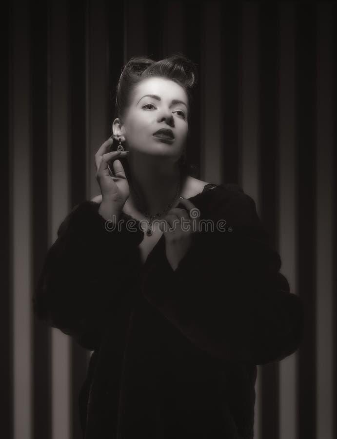 Hollywood kvinna fotografering för bildbyråer
