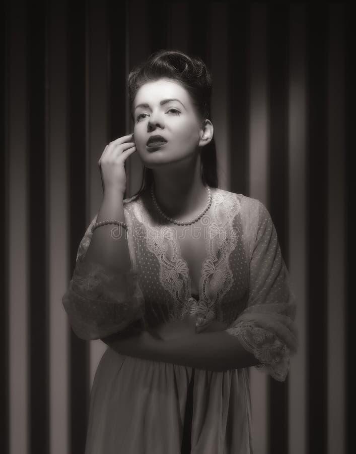 Hollywood kvinna arkivbild