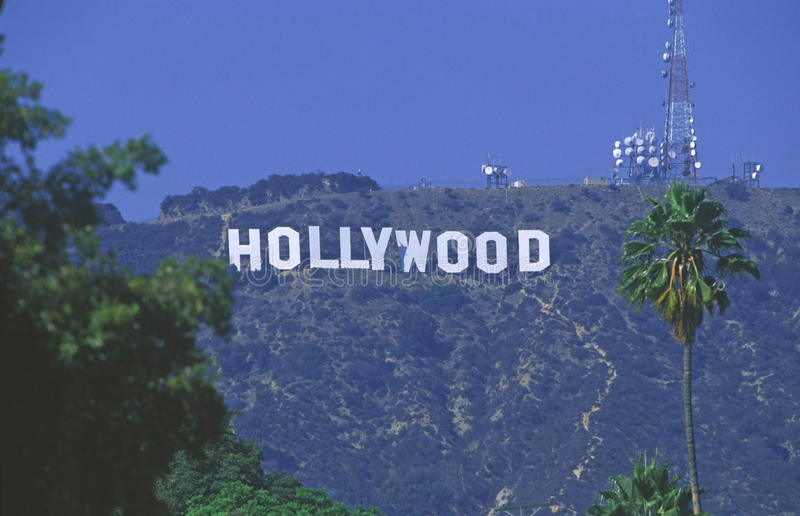 Hollywood la Californie, Etats-Unis photos libres de droits