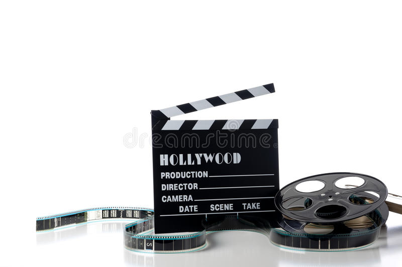 Hollywood Movie Items royalty free stock photo