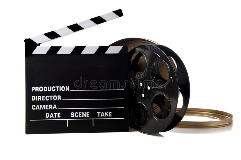 Download Hollywood Movie Items stock image. Image of background - 7158347