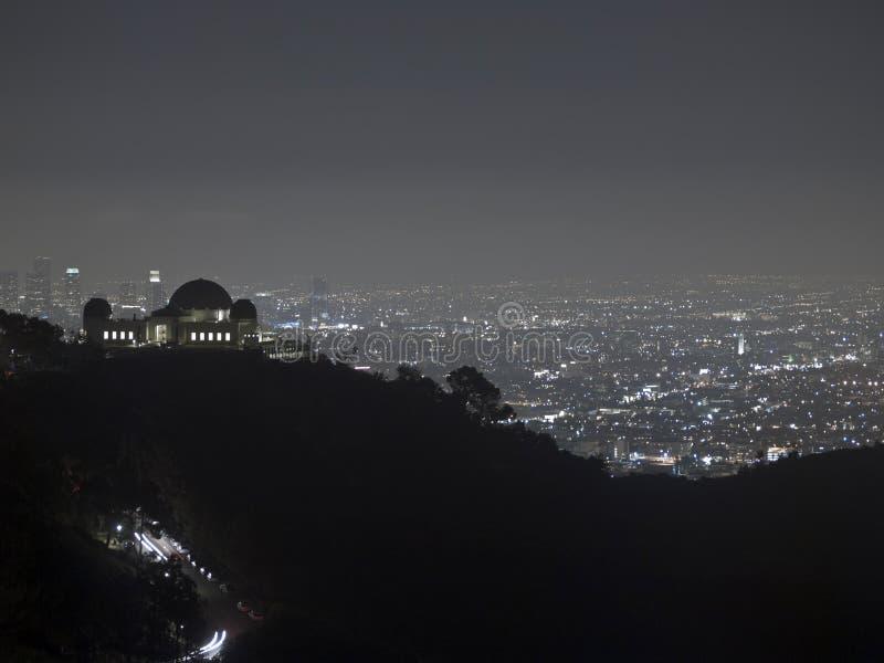 Hollywood-Nacht lizenzfreies stockbild