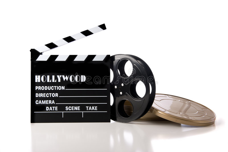 hollywood objektfilm royaltyfria bilder