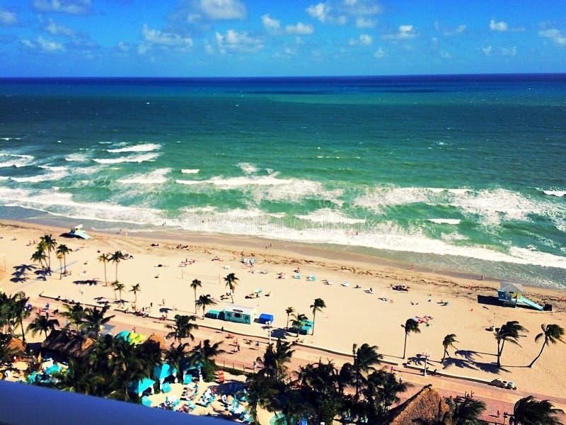 Hollywood plaża obrazy stock