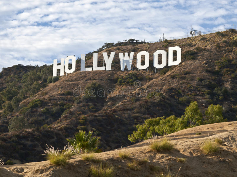 hollywood popołudniowy znak fotografia royalty free