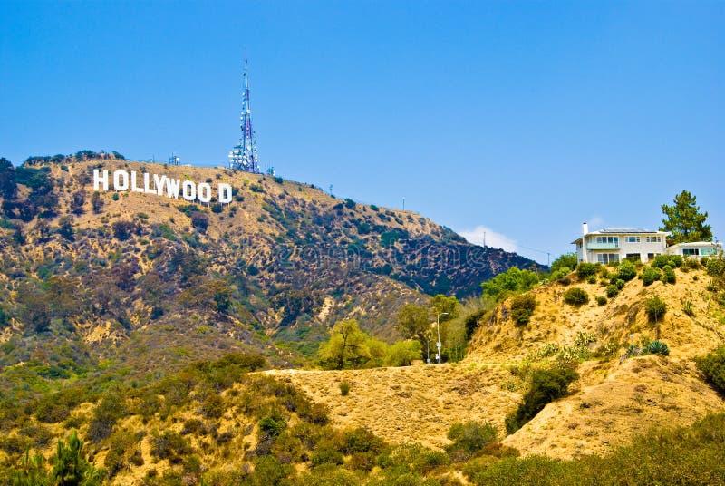 Hollywood-Schriftzug lizenzfreies stockbild