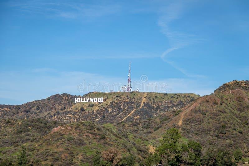 Hollywood-Schriftzug - Los Angeles, Kalifornien, USA stockfotos