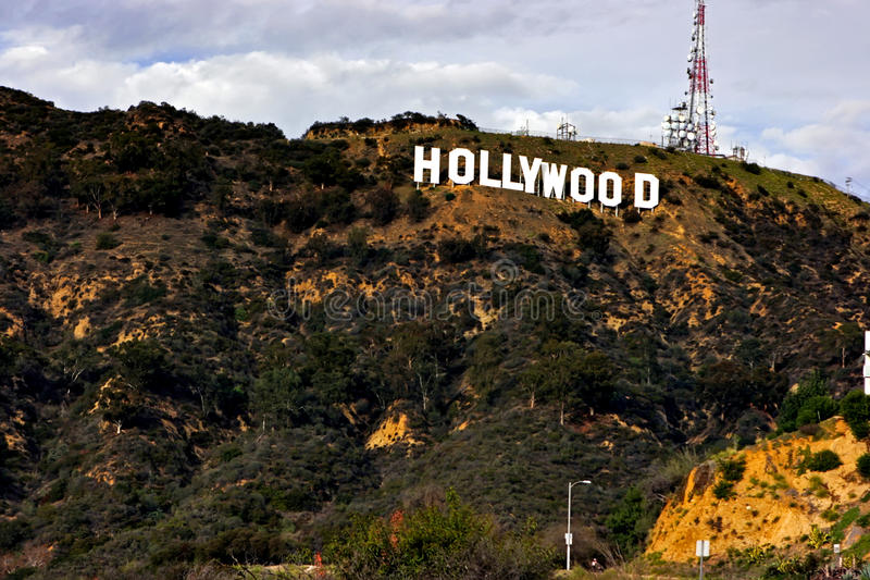 Download Hollywood sign editorial photo. Image of media, beverley - 13119696
