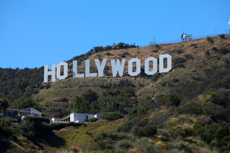 Download Hollywood Sign editorial stock image. Image of hills - 14089479