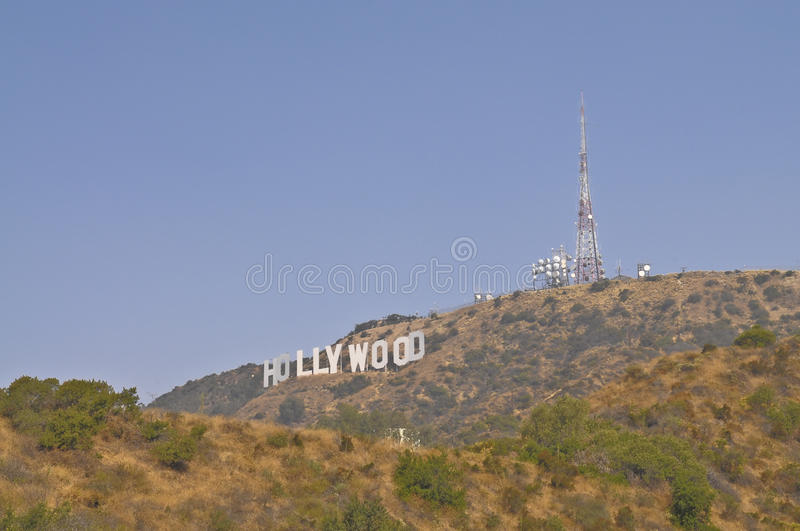 Download The Hollywood Sign editorial stock image. Image of letters - 18646039