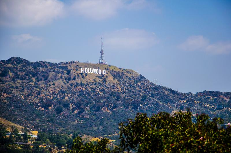 Hollywood Sign, Los Angeles stock photography