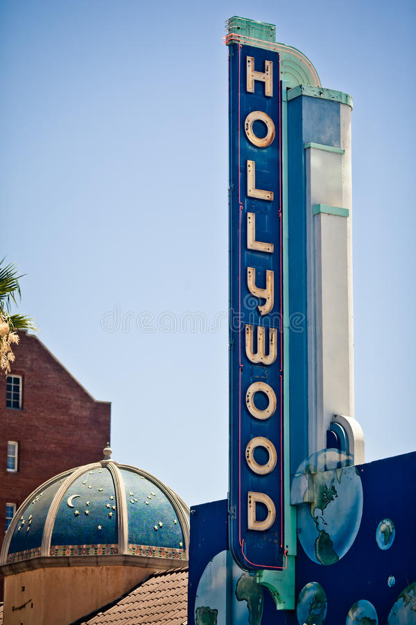 Hollywood Sign In Los Angeles Editorial Image