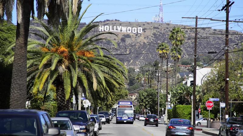 Hollywood Sign Stock Video Image Of Picture Film Industry