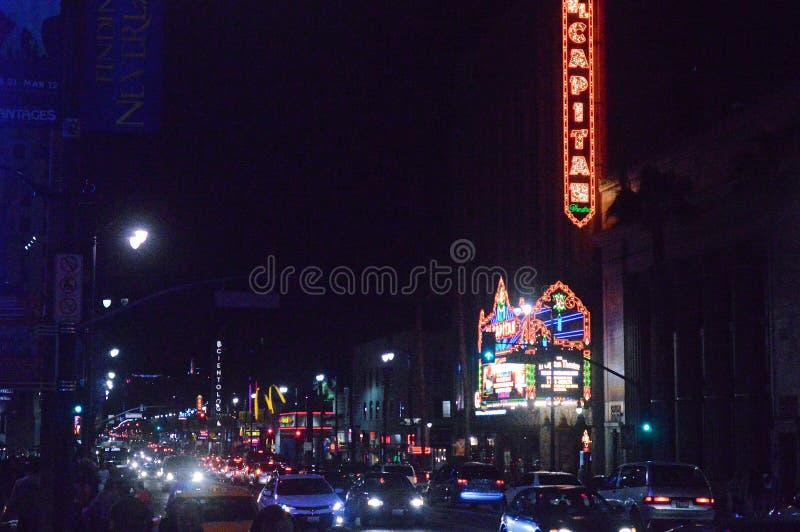 Hollywood 1 stock photo